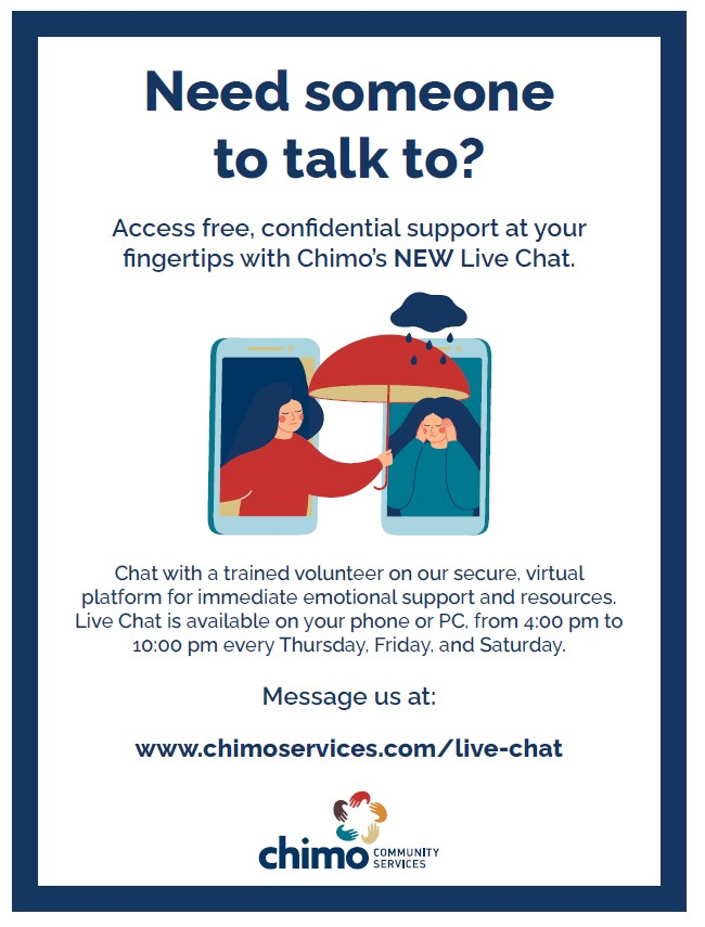 Chimo new live chat